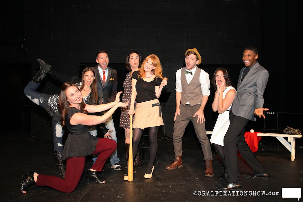 "Cast of storytellers for ""Playing the Field"""