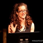 "Erin Burdette performs in ""Miss the Boat"" on April 23rd, 2013 at The McKinney Avenue Contemporary, Dallas, TX."