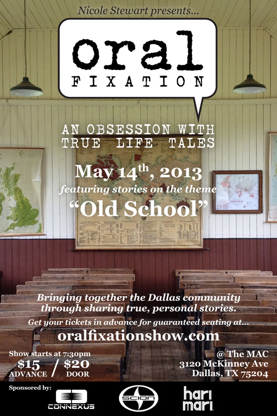 "Flyer for ""Old School"" on May 14th, 2013"