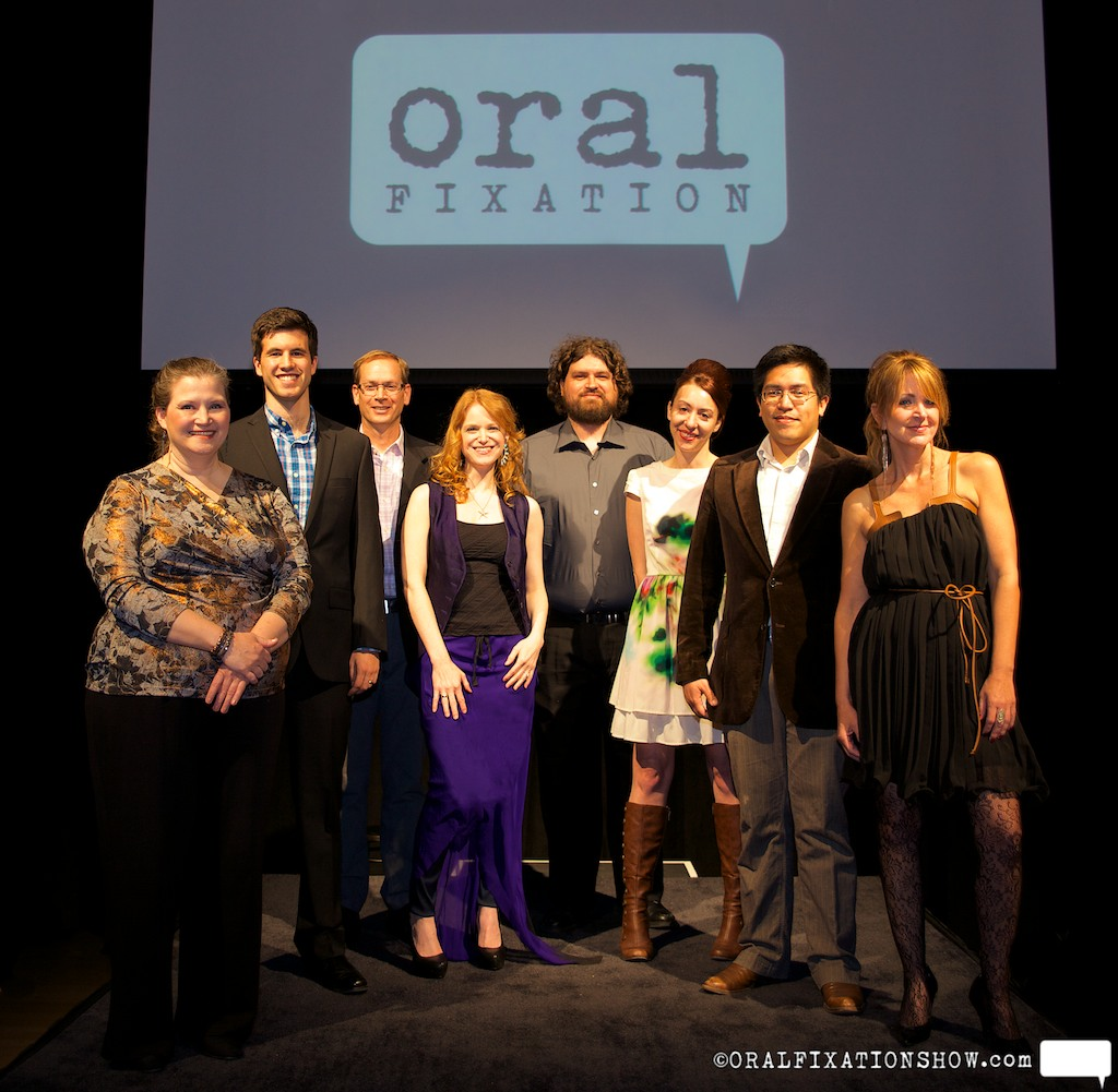 "The cast of Oral Fixation ""No Strings Attached"""